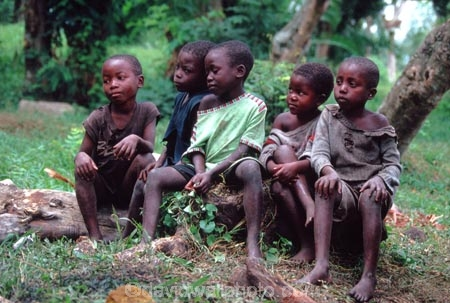 Children D R Congo Zaire Central Africa