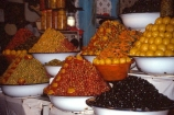 africa;african;africans;north-africa;moroccan;shop;shops;stall;stalls;market;olive;markets;olives;colour;colours;colors;color;piles;display;displayed;orange;oranges;travel;morocco;north-africa;produce;food;basin;basins;decorate;decoration