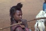 Tuareg;tuaregs;Girl;girls;Agadez;Niger;West-Africa;african;herds-girl;herder;nomad;nomadic;desert;travel;sahara;algeria;hair;hairstyle;ethnic;indigenous
