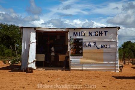 Mid Night Bar No. 1, on C44 road to Tsumkwe, Namibia, Africa