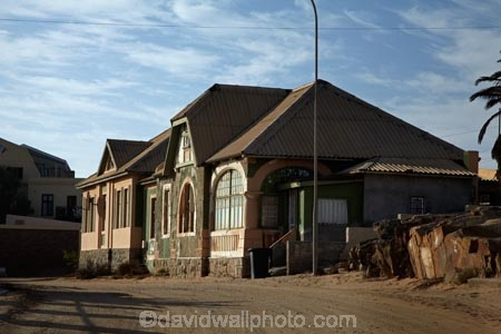 German colonial architecture Luderitz Namibia Africa