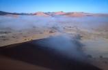 Sossusvlei;Namib_Naukluft-National-Park;national-park;Namibia;Southern-Africa;Africa;African;sand;sand-dune;sand-dunes;dune;dunes;cloud;mist;fog;low-cloud;slope;slopes;sparse;empty