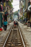 alley;alleys;alleyway;alleyways;apartments;Asia;Asian;back-street;back-streets;backstreet;backstreets;Hanoi;house;houses;housing;lane;lanes;laneway;laneways;people;person;poor;poverty;rail-line;rail-lines;rail-track;rail-tracks;railroad;railroads;railway;railway-line;railway-lines;railway-track;railway-tracks;railways;South-East-Asia;Southeast-Asia;street;street-scene;street-scenes;streets;track;tracks;train-track;train-tracks;transport;transportation;Vietnam;Vietnamese