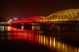 bridge;bridges;calm;dark;dusk;evening;Hu;Hue;Huong-Giang;infrastructure;light;lighting;lights;night;night-time;night_time;North-Central-Coast;Perfume-River;placid;quiet;reflected;reflection;reflections;river;rivers;road-bridge;road-bridges;serene;smooth;Song-Huong;still;Sông-Huong;Tha-Thiên_Hu-Province;Thua-Thien_Hue-Province;traffic-bridge;traffic-bridges;Trang-Tien-Bridge;tranquil;transport;twilight;Vietnam;Vietnamese;water;Asia