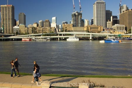australasia;Australia;australian;Brisbane;Brisbane-River;buildings;c.b.d.;cat-catamaran;catamarans;cbd;central-business-district;cities;city;city-cat;City-Cat-Passenger-Ferry;ferries;ferry;office;offices;passenger-ferries;passenger-ferry;pedestrian;pedestrians;Queensland;river;rivers;riverside-walkway;South-Bank-Parklands;water