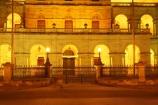 architecture;australasia;Australia;australian;Brisbane;building;buildings;dark;dusk;floodlighting;floodlit;grand;heritage;Historic;Historic-Parliament-House,-Bris;historical;illuminate;illuminated;night;night-time;old;Parliament-House;Queensland;twilight