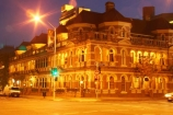 architectural;architecture;australasia;Australia;australian;Brisbane;building;buildings;dusk;historic;historical;mansion;mansions;night;night-time;Queensland;The-Mansions;traffic-light;traffic-lights;twilight