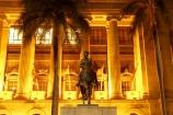 architecture;art-galleries;art-gallery;australasia;Australia;australian;Brisbane;building;buildings;c.b.d.;cbd;central-business-district;City-Hall;colonial;column;columns;facade;facades;floodlighting;floodlit;historic;historical;horse;horses;illuminate;illuminated;Italian-renaissance;King-George-Square;museum;museums;night;night-time;Queensland;statue;statues;town-hall;town-halls