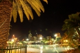 Australia;beach;beaches;Brisbane;dark;night;night-time;palm;palm-tree;pool;Queensland;South-Bank-Parklands