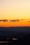 A.C.T.;ACT;Australia;Australian-Capital-Territory;Canberra;capital;capitals;dusk;evening;lake;Lake-BG;Lake-Burley-Griffin;lakes;Mount-Ainslie;Mt-Ainslie;Mt.-Ainslie;nightfall;orange;sky;sunset;sunsets;twilight;water