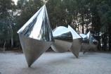A.C.T.;ACT;Australia;Australian-Capital-Territory;Bert-Flugelman;Canberra;capital;capitals;cone;cones;metal;National-Gallery-of-Australia;National-Gallery-Sculpture-Garden;sculpture;Sculpture-Garden;sculptures