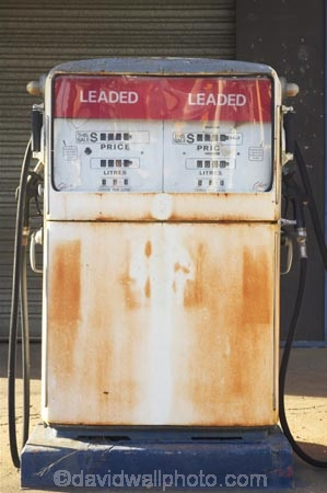 Petrol Pump At Old Petrol Station Maryborough Queensland