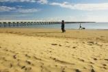 australasia;Australia;australian;beach;beaches;cloud;clouds;coast;coastal;coastline;dog;dogs;early-light;Fraser-Coast;Hervey-Bay;jetties;jetty;people;person;pier;piers;queensland;sand;sandy;shore;shoreline;sky;Urangan-pier;walk;walking;wharf;wharfs;wharves