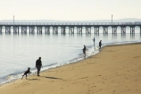 australasia;Australia;australian;beach;beaches;cloud;clouds;coast;coastal;coastline;dog;dogs;early-light;fisher;fisherman;fishermen;fishers;fisherwoman;fisherwomen;fishing;Fraser-Coast;Hervey-Bay;jetties;jetty;people;person;pier;piers;queensland;sand;sandy;shore;shoreline;sky;Urangan-pier;walk;walking;wharf;wharfs;wharves