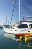 australasia;Australia;australian;boat;boat-harbour;boats;calm;coast;coastal;color;colors;colour;colours;Fraser-Coast;harbor;harbors;harbour;harbours;Hervey-Bay;inflatable;inflatables;marina;marinas;mast;masts;orange;queensland;reflect;reflection;reflections;Urangan;yacht;yachts;yellow