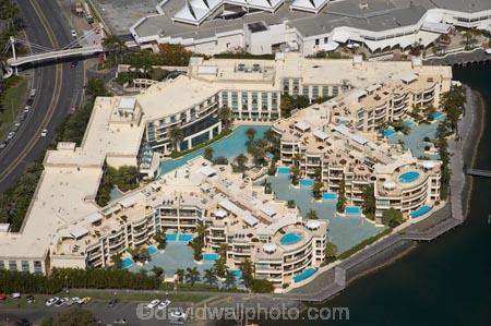 palazzo versace luxury resort gold coast queensland australia aerial. Black Bedroom Furniture Sets. Home Design Ideas