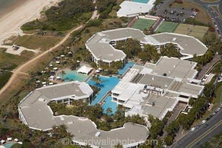 Sheraton Mirage Resort Gold Coast Queensland Australia Aerial