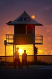 australasia;Australia;beach;beaches;dawn;Gold-Coast;ocean;pacific-ocean;queensland;silhouette;silhouettes;sunrise;sunrises;surf-lifesaving-tower;surfers-paradise;tasman-sea;tourism;tower;towers;travel;twilight;vacation;vacations;watch-tower;watch-towers;watchtower;watchtowers