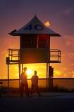 australasia;Australia;beach;beaches;dawn;Gold-Coast;ocean;pacific-ocean;queensland;silhouette;silhouettes;sunrise;sunrises;surf-lifesaving-tower;surfers-paradise;tasman-sea;tourism;tower;towers;travel;twilight;vacation;vacations;watch-tower;watch-towers;watchtower;watchtowers