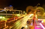 australasia;Australia;broadbeach;dark;Gold-Coast;holiday;holidays;light;lights;mono-rail;mono-rails;mono_rail;mono_rails;monorail;monorails;night;night-life;night-time;night_life;night_time;nightlife;Queensland;Surfers-Paradise;tourism;traffic;travel;vacation;vacations