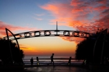 Australasian;Australia;Australian;break-of-day;dawn;dawning;daybreak;first-light;Gold-Coast;jog;jogger;joggers;joggin;morning;ocean;orange;Pacific-Ocean;Qld;Queensland;run;runner;runners;running;sea;seas;sunrise;sunrises;sunup;Surfers-Paradise;Surfers-Paradise-Sign;Surfers-Paradise-Signs;Tasman-Sea;twilight