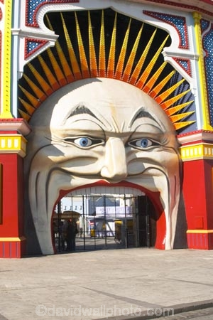 amusement-park;australasia;australasian;Australia;australian;carnival;carnivals;Entrance-Gate;eyes;face;faces;fair;fairs;fun-park;fun-parks;funfair;funfairs;funpark;funparks;head;heads;holiday;holidays;Luna-Park;Melbourne;mouth;mouths;nose;park;parks;St-Kilda;theme-park;theme-parks;themepark;tourism;travel;vacation;vacations;Victoria