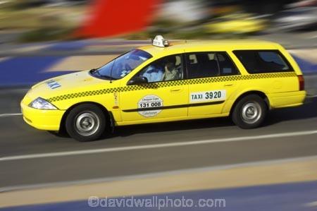 Yellow Taxi, Melbourne, Victoria, Australia