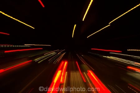 Speeding through traffic, Melbourne, Victoria, Australia