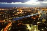australasian;Australia;australian;bolte-bridge;commuter;commuters;dark;docklands;dusk;evening;light;lights;Melbourne;night;night-time;traffic;twilight;Victoria;view-from-rialto-tower;view-from-rialto-towers;west-gate-bridge;westgate-bridge;yarra-river
