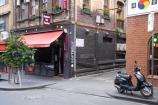 alley;alleys;alleyway;alleyways;Australia;back-street;back-streets;cafe;cafes;lane;lanes;Little-Bourke-St;Little-Bourke-Street;Melbourne;motorbike;motorbikes;motorcycle;motorcycles;motorscooter;motorscooters;restaurant;restaurants;Scooter;scooters;Soft-Belly;Softbelly;street-scene;street-scenes;VIC;Victoria;Warburton-Alley;Warburton-Lane
