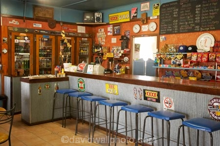 Bar Packsaddle Roadhouse Outback New South Wales Australia