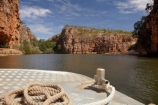 Australasia;Australia;bluff;bluffs;boat;boats;canyon;canyons;cliff;cliffs;cruise;cruises;gorge;gorges;Katherine;Katherine-Gorge;Katherine-Gorge-National-Park;Katherine-River;launch;launches;N.T.;national-park;national-parks;Nitmiluk-Cruises;Nitmiluk-N.P.;Nitmiluk-National-Park;Nitmiluk-NP;Nitmiluk-Tours;Northern-Territory;NT;river;rivers;rope;ropes;Top-End;tour-boat;tour-boats;tourism;tourist;tourist-boat;tourist-boats;water