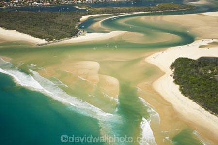 Mouth Of Noosa River Noosa Heads Sunshine Coast