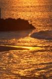australasia;Australia;australiasia;coast;coastal;mooloolaba;orange;pacific-ocean;queensland;serene;silhouette;silhouettes;sky;sunlight;sunshine-coast;tasman-sea;tourism;travel;twilight;water;wave;waves;wet