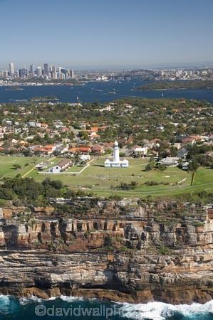 Sea Cliffs and Macquarie Lighthouse (Australias Oldest