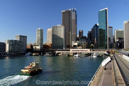 australia;sydney;circular;quay;ferry;passenger;sydney;cove;harbor;harbors;harbours;commute;commuters;offices;CBD;C.B.D.;office;skyscraper;skyscrapers;wharf;wharves;jetty
