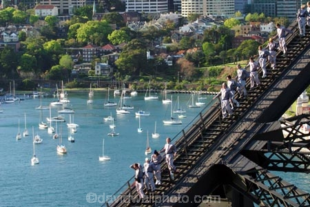sydney;australia;bridge;climb;bridges;climber;silhouette;high;adventure;tourism;tourist;exciting;harbor;harbour;harbors;harbours;tourists;exciting;climbers;view-;yachts;yachts;bay