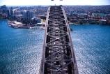 Sydney;Harbour;harbor;harbors;harbours;Bridge;aerials;bridges;Australia;aerial;bridge-climbers;bridge-climb;climbers;climb