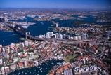 Sydney;Harbour;harbor;harbors;harbours;Bridge;bridges;Australia;aerial;architecture;boat;boats;ferry;ferries;wake;aerials;kirribilli;north;north-sydney