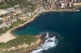 aerial;aerial-photo;aerial-photograph;aerial-photographs;aerial-photography;aerial-photos;aerial-view;aerial-views;aerials;Australasia;Australia;beach;beaches;Cabbage-Tree-Bay;coast;coastal;coastline;coastlines;coasts;Fairy-Bower-Point;foreshore;Manly;Manly-Beach;N.S.W.;New-South-Wales;NSW;ocean;Pacific-Ocean;sea;Shelly-Beach;shore;shoreline;shorelines;shores;Sydney;Tasman-Sea;water