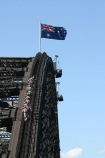 sydney;australia;bridge;flag;flags;climb;bridges;climber;silhouette;high;adventure;tourism;tourist;exciting;harbor;harbour;harbors;harbours;tourists;exciting;climbers;view-