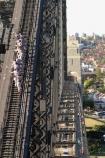 climb;bridges;climber;silhouette;high;adventure;tourism;tourist;exciting;harbor;harbour;harbors;harbours-;Bridge;Climbers;Sydney;Australia
