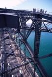 Sydney;Harbour;harbours;harbor;harbors;Bridge;Australia;bridges;Sydney-Harbour-Bridge;commute;commuters;transport;lane;lanes;traffic;car;cars;taxi;taxis;span;climb;climbers;tourists;tourism;adventure;bridge-climb;bridge-climbers