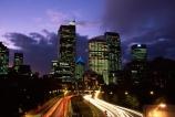 Sydney;Australia;dusk;night;light;lights;motorway;motorways;car;cars;traffic;transport;transportation;commute;commuters;highway;highways;road;roads;roading;dusk;night;twilight;office;offices;skyscraper;skyscrapers;tail-lights;tail_lights;long-exposure;light-trails