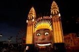 amusement-park;amusement-parks;Australasia;Australia;carnival;carnivals;dusk;evening;eye;eyes;face;faces;fair;fairground;fairgrounds;fairs;fun-fair;fun-fairs;fun-park;fun-parks;funfair;funfairs;funpark;funparks;light;lighting;lights;Luna-Park;N.S.W.;New-South-Wales;night;night-time;NSW;parks;Sydney;theme-park;theme-parks;themepark;twilight