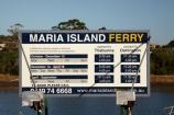 Australasian;Australia;Australian;dock;docks;East-Tasmania;Eastern-Tasmania;Island-of-Tasmania;jetties;jetty;Maria-Island-Ferry-Schedule;Maria-Island-Ferry-Sign;Maria-Island-Ferry-Timetable;pier;piers;quay;quays;State-of-Tasmania;Tas;Tasmania;Triabunna;waterside;wharf;wharfes;wharves