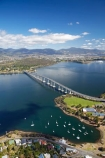 aerial;aerial-photo;aerial-photograph;aerial-photographs;aerial-photography;aerial-photos;aerial-view;aerial-views;aerials;Australasian;Australia;Australian;bridge;bridges;Derwent-River;Hobart;Island-of-Tasmania;Montagu-Bay;Queens-Domain;River-Derwent;State-of-Tasmania;Tas;Tasman-Bridge;Tasmania