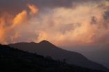 above-the-clouds;Australasian;Australia;Australian;cloud;cloudy;dusk;evening;Hobart;Island-of-Tasmania;Mount-Wellington;Mt-Wellington;Mt.-Wellington;nightfall;orange;sky;State-of-Tasmania;sunset;sunsets;Tas;Tasmania;twilight