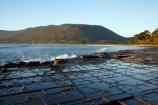 Australasian;Australia;Australian;calm;coast;coastal;coastline;coastlines;coasts;Eaglehawk-Neck;foreshore;geological;geology;Island-of-Tasmania;landform;landforms;landscpape;natural-rock-formation;natural-rock-formations;ocean;Pirates-Bay;placid;quiet;reflection;reflections;rock;rock-formation;rock-formations;rock-outcrop;rock-outcrops;rocks;sea;serene;shore;shoreline;shorelines;shores;smooth;Southern-Tasmania;State-of-Tasmania;still;stone;Tas;Tasman-Peninsula;Tasman-Sea;Tasmania;Tessellated-Pavement;tranquil;unusual-landscape;unusual-landscapes;unusual-rock-formation;unusual-rock-formations;water