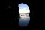 beach;beaches;Cathedral-Cave;cathedral-caves;catlins;Catlins-Coast;cave;cavern;caverns;cavers;caves;caving;coast;coastal;coastline;explore;explorers;exploring;geological;geology;grotto;grottos;New-Zealand;people;person;reflection;reflections;rock-formation;rock-formations;sand;sandy;scenic;shore;shoreline;South-Island;south-otago;southland;stone